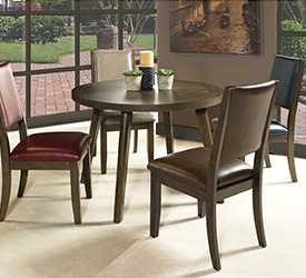 Cafe Table 4 Brown Chairs 799 399 Shop Now