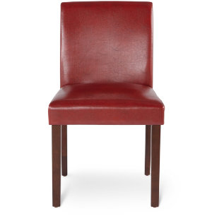 Low Back Parson Chair - Red