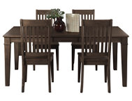 Huron Leg Tbl 5PC Set - Slat