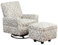 shop Chase Print Glider Chair Set
