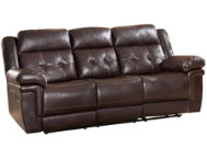 Carly Tufted Reclining Sofa