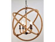 shop Tuscan-5-Light-Rope-Chandelier