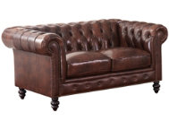 Grand Chesterfield Loveseat