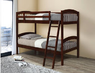 Manville Coffee Twin Bunk Bed