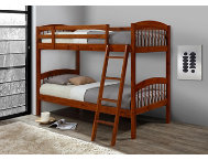 Manville Honey Twin Bunk Bed