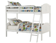 shop Toshi-White-Twin-Bunk-Bed