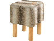 Costa Brown Square Stool