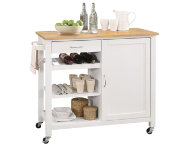 Ottawa White Kitchen Island