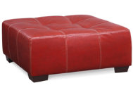Idol Red Cocktail Ottoman