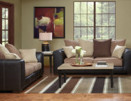 Idol-Mocha-Sofa-&-Loveseat-Set