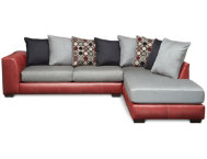 Idol Red 2 Piece Sectional