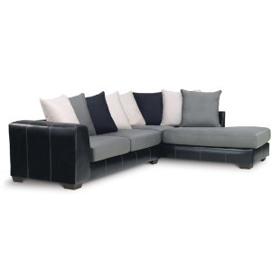 Idol Steel 2 Piece Sectional