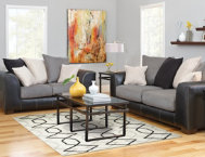 Idol Steel Sofa & Loveseat Set