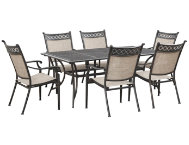 Manhattan 7pc Patio Dining Set