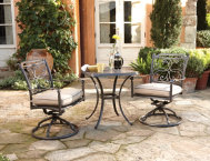 3 PC Bistro Dining Set