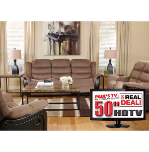 more real deal packages 7 piece reclining living room with tv
