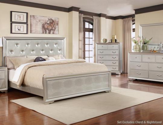 Poseidon 5pc King Bedroom Set - Art Van Furniture