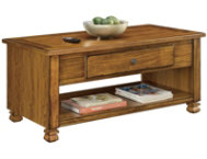 Leesa Tuscany Oak Coffee Table