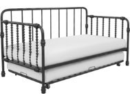 Wren Black Daybed w  Trundle