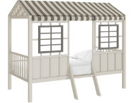 Forest Twin Grey Loft Bed