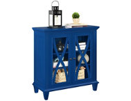 Ellington Blue Cabinet
