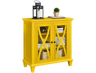 Ellington Yellow Cabinet