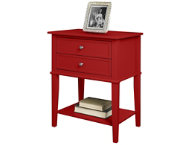 Franklin Red Accent Table