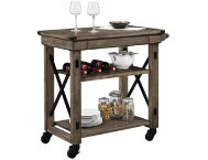Wildwood Gray Rolling Cart