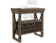Wildwood Gray Bar Cabinet