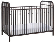 Ivy Bronze Metal Crib