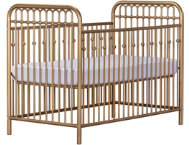 Ivy Gold Metal Crib