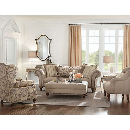 ... Living Rooms / Fabric Furniture Sets. Shop Lorraine Collection Main Part 82