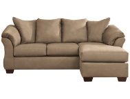 COLORS Mocha Sofa Chaise