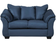 COLORS Blue Loveseat