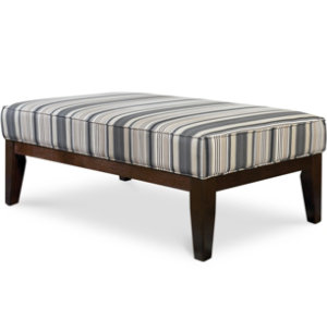 Yvette Steel Cocktail Ottoman