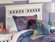 Zayley Twin Panel Headboard