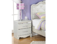 Zarolina 2-Drawer Nightstand