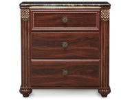 Gabriela 3 Drawer Nightstand