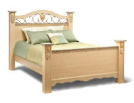 Sanibel Queen Poster Bed