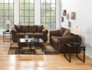 Sofa & Loveseat Set - Cafe