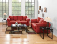Sofa & Loveseat Set - Salsa