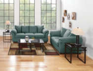 Sofa & Loveseat Set - Sky