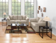 Sofa & Loveseat Set - Stone