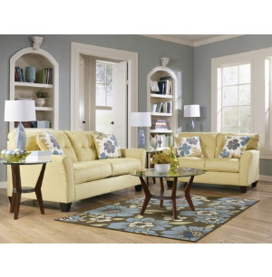 Kylee Sofa & Loveseat Set