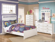 Lulu Dresser, Mirror, Tw Bed