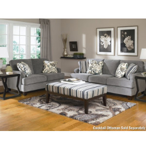 Yvette Sofa & Loveseat Set