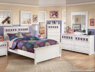 shop Zayley-Dresser,Mirror,Full-Bed