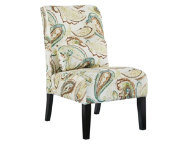 Annora Paisley Armless Chair