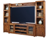 Alder II Wall with 72  Console