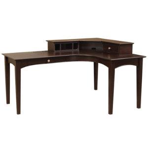 E2 Espresso L Desk Set